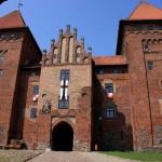Budynek bramny z przedzamcza zamku w Nidzicy